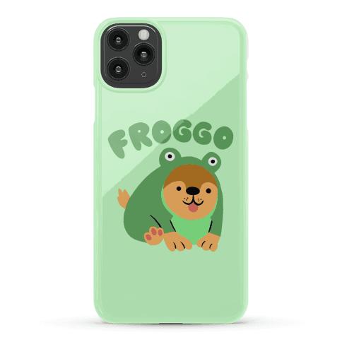 Froggo Doggo Frog Phone Case