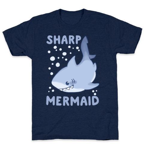 Sharp Mermaid Mens T-Shirt