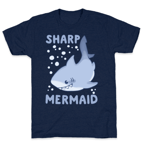Sharp Mermaid Mens T-Shirt