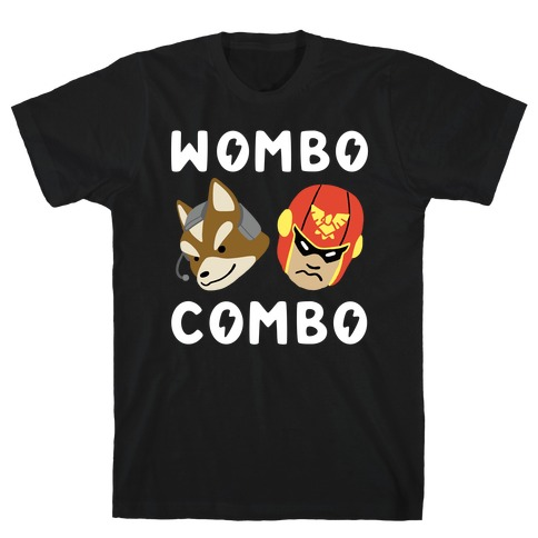 Wombo Combo - Fox and Captain Falcon Mens T-Shirt