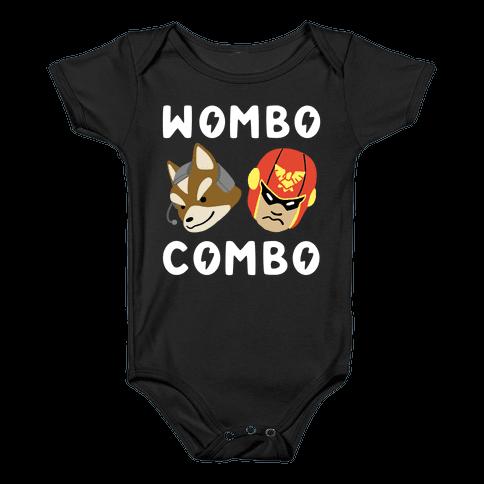 Wombo Combo - Fox and Captain Falcon Baby Onesy