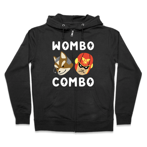 Wombo Combo - Fox and Captain Falcon Zip Hoodie