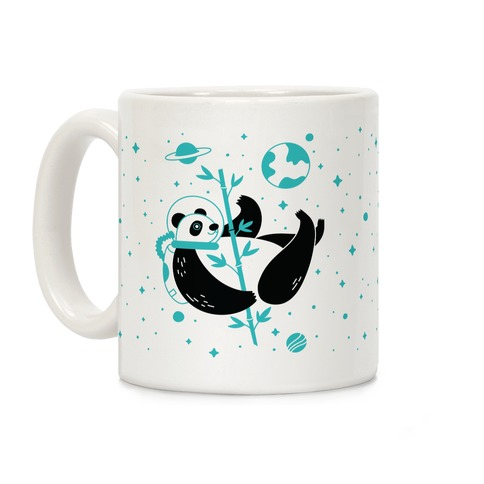 Space Panda Coffee Mug