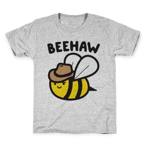 Beehaw Cowboy Bee Kids T-Shirt