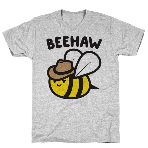 Beehaw Cowboy Bee Mens T-Shirt