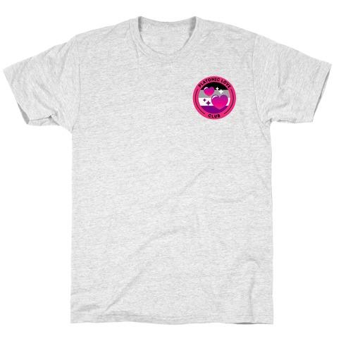 Platonic Love Club Patch Version 2 T-Shirt