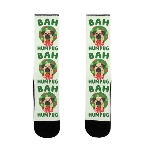 Bah Humpug Sock