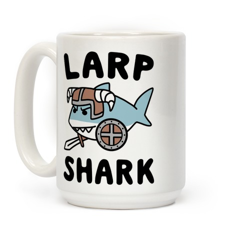 Larp Shark Coffee Mug