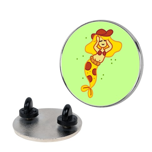 Merpperoni Pizza Mermaid Pin