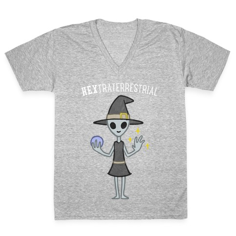 HEXtraterrestrial V-Neck Tee Shirt