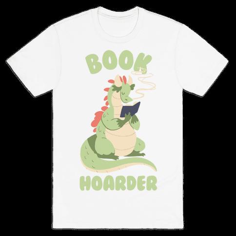 Book Hoarder Mens T-Shirt
