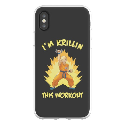 I'm Krillin This Workout Phone Flexi-Case