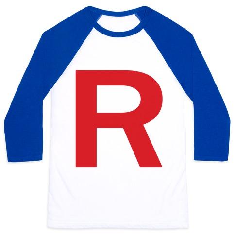 Team Rocket Baseball Tee