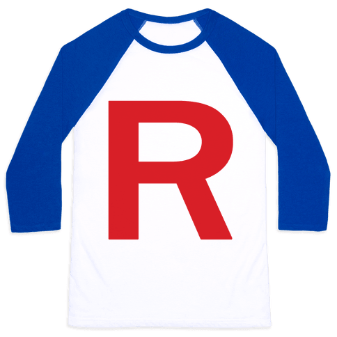 Team Rocket Baseball Tee