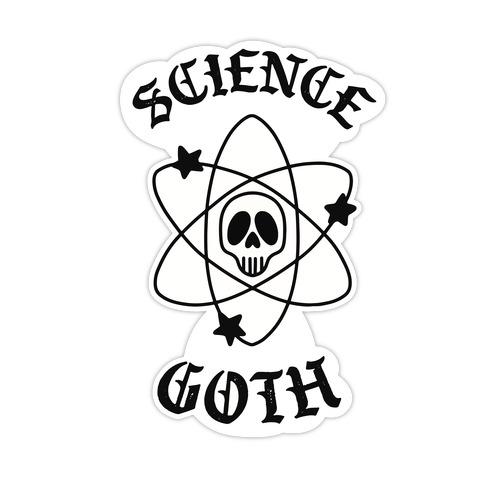 Science Goth Die Cut Sticker