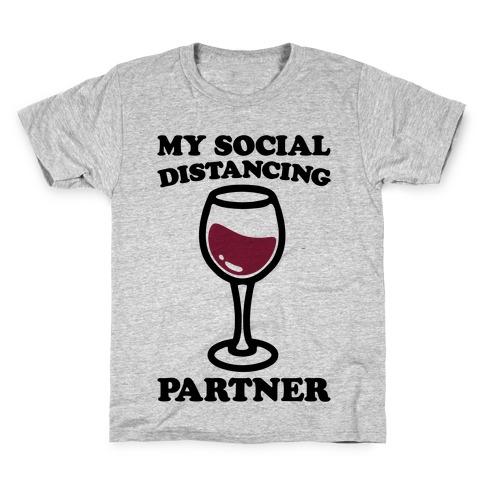 My Social Distancing Partner Kids T-Shirt