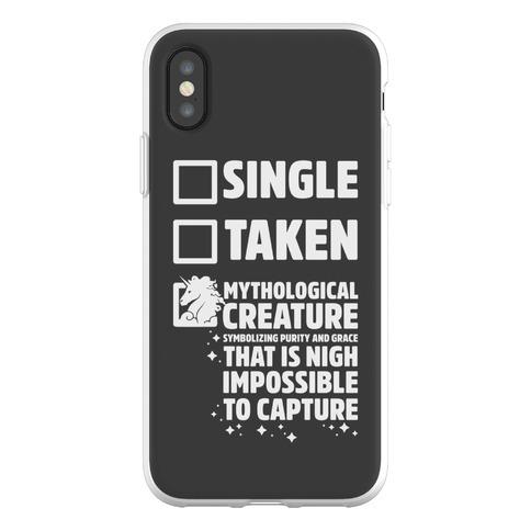Single Taken Mythological Creature Phone Flexi-Case