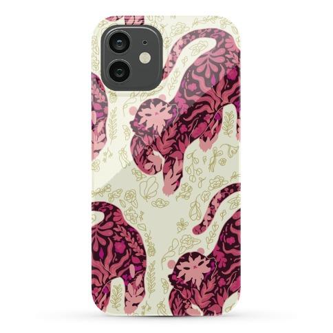 Floral Tiger Phone Case