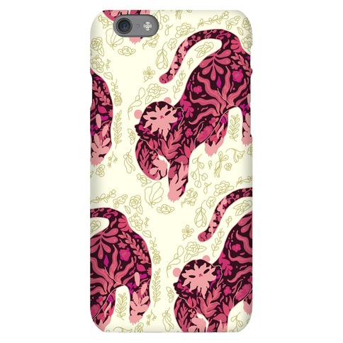 Floral Tiger Phone Case