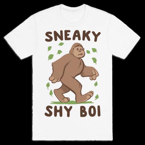 Sneaky Shy Boi Mens T-Shirt