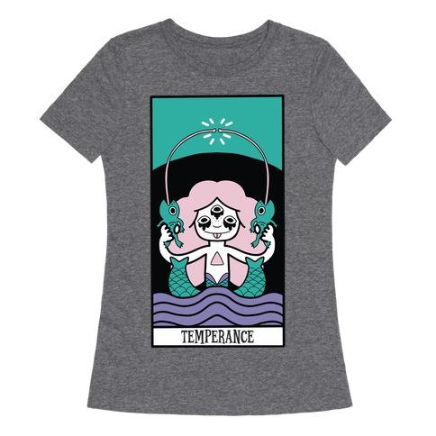 Creepy Cute Tarots: Temperance Womens T-Shirt