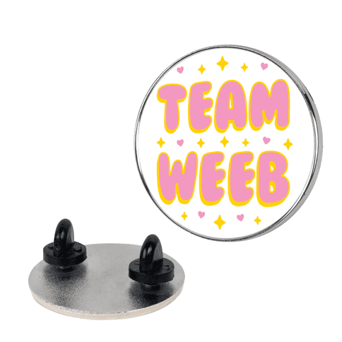 Team Weeb pin