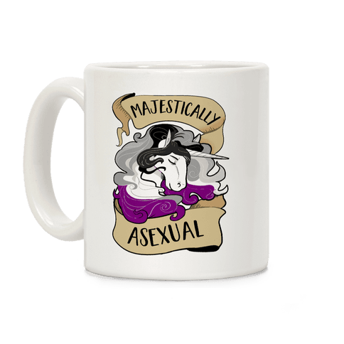 Majestically Asexual Coffee Mug