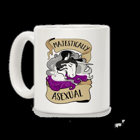 Majestically Asexual Coffee Mug