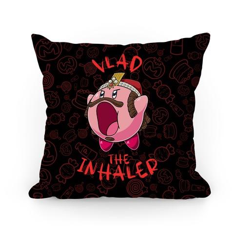 Vlad The Inhaler Pillow