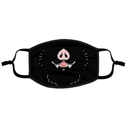 Bat Mouth Flat Face Mask