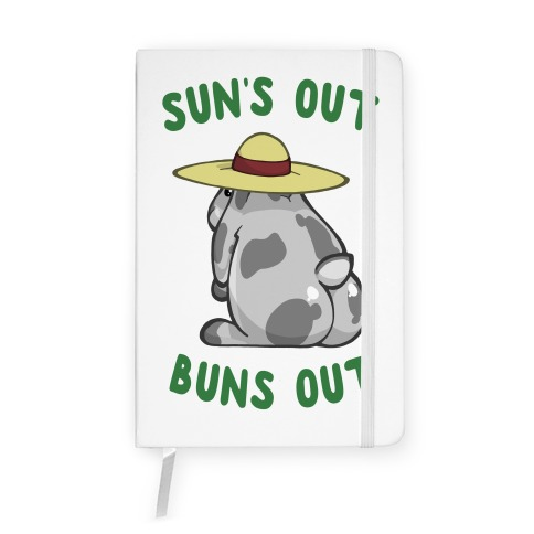 Sun's Out Buns Out Bunny Notebook