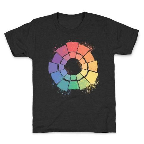 Gay Pride Color Wheel Kids T-Shirt