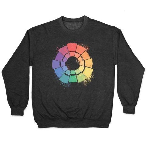 Gay Pride Color Wheel Pullover