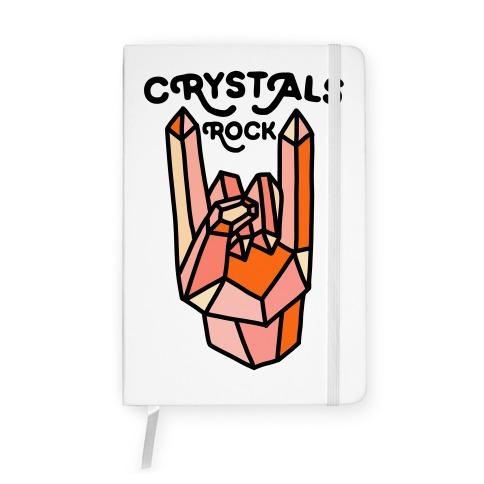 Crystals Rock Notebook