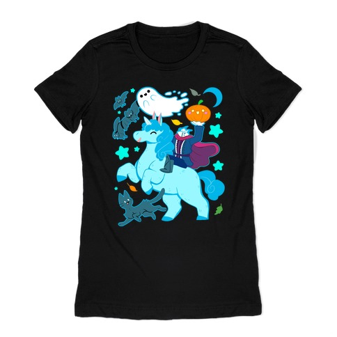 Cute Halloween Womens T-Shirt