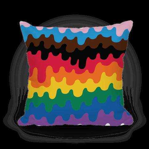 Pride Drip Pillow