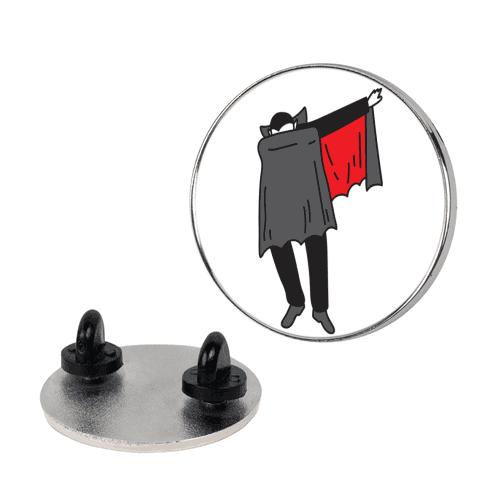 Dabbing Dracula pin