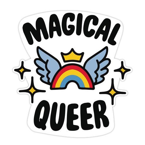 Magical Queer Die Cut Sticker