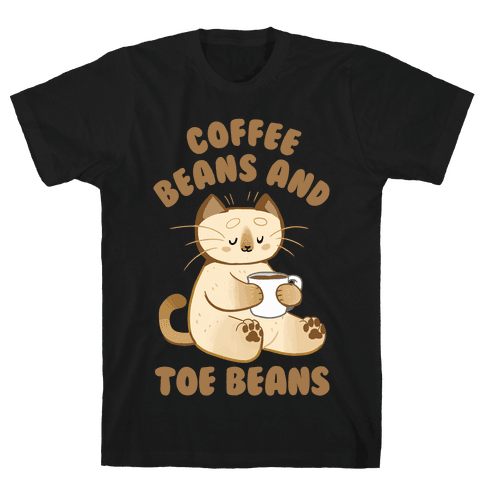 Coffee Beans and Toe Beans Mens T-Shirt