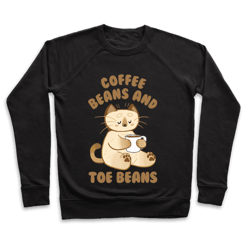 Coffee Beans and Toe Beans Pullover