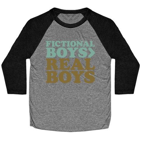 Fictional Boys > Real Boys Baseball Tee