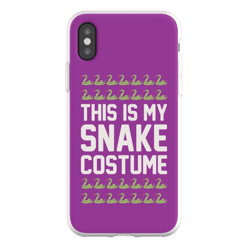 This Is My Snake Costume Phone Flexi-Case