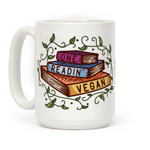 One Readin Vegan Coffee Mug