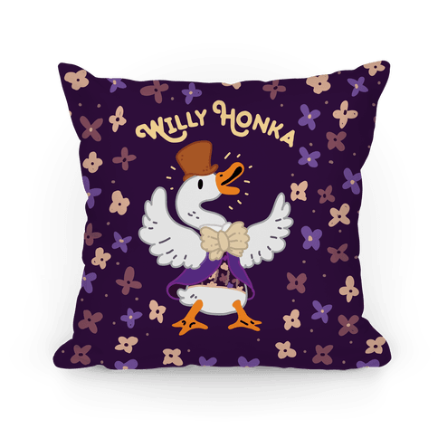 Willy Honka Pillow
