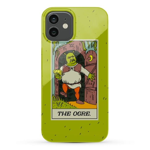 The Ogre Tarot Card Phone Case