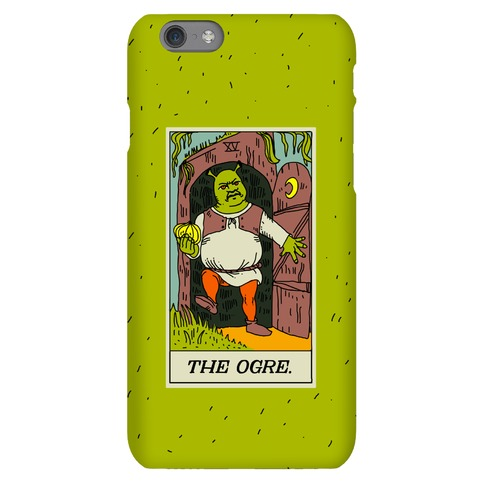 The Ogre Tarot Card Phone Case