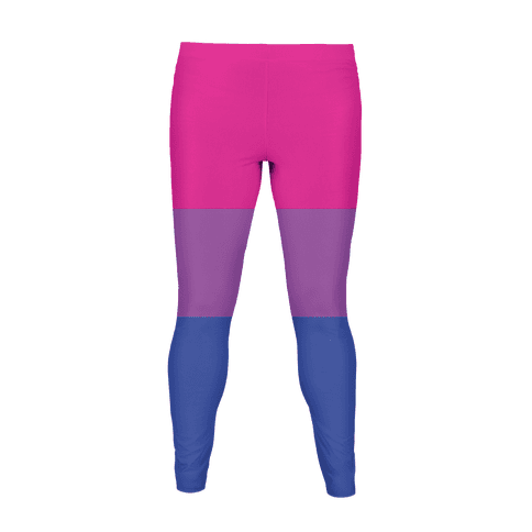 Bisexual Flag Colors Women's Legging