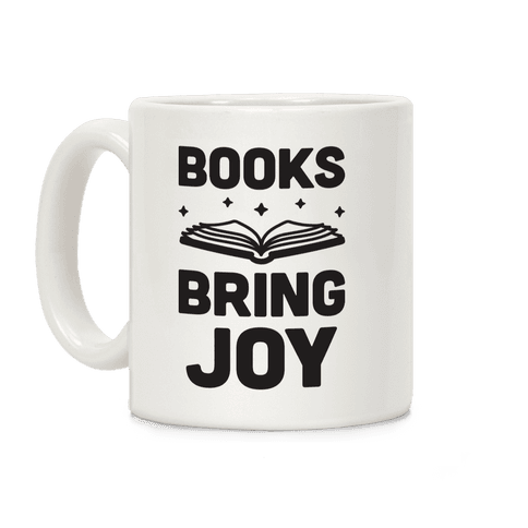 Books Bring Joy Coffee Mug