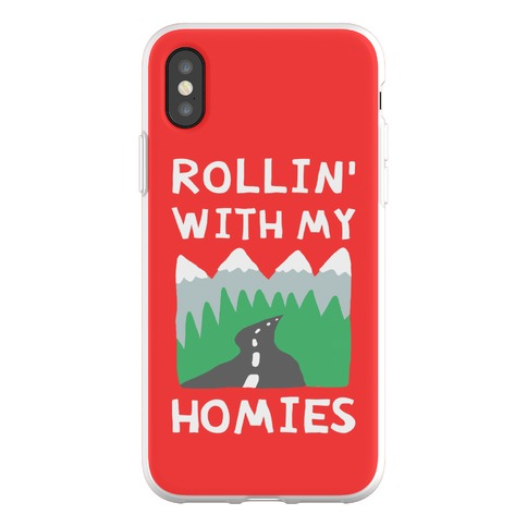 Rollin' With My Homies Roadtrip Phone Flexi-Case