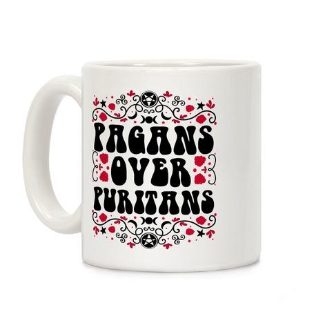 Pagans Over Puritans Coffee Mug
